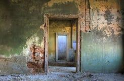 Detalhe abandonado da casa Imagens de Stock