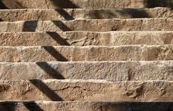 Detalhe abstrato da foto das escadas do contraste Imagens de Stock Royalty Free