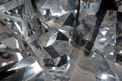 Detalhe abstrato de poucas partes grandes de gelo quebrado gelo, blocos esmagados de gelo Superfície quebrada do gelo Textura gro imagens de stock royalty free