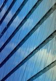 Detalhe abstrato do prédio de escritórios Foto de Stock Royalty Free