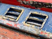 Detalhe afligido do barco salva-vidas Imagens de Stock
