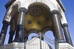 Detalhe alemão da fonte, Istambul Turquia Imagens de Stock