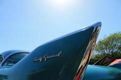 Detalhe americano clássico do carro fotografia de stock