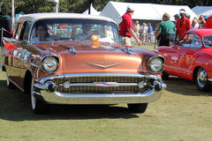 Detalhe americano clássico do carro Imagem de Stock Royalty Free