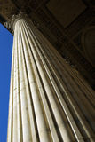 Detalhe antigo da coluna Imagens de Stock Royalty Free