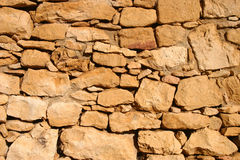 Detalhe antigo da parede da rocha imagens de stock