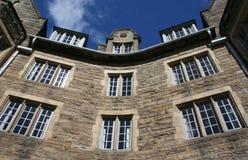 Detalhe antigo do edifício imagens de stock royalty free