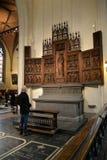 Detalhe Archiecture de catedral de nossa senhora Fotografia de Stock