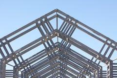 Detalhe architectual do metal Imagem de Stock