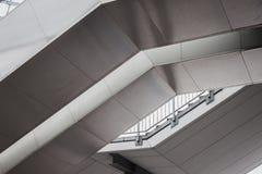 Detalhe arquitectónico de uma construção moderna Fotografia de Stock Royalty Free