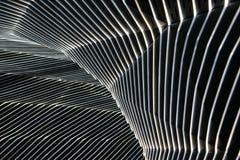 Detalhe arquitectónico moderno fotografia de stock