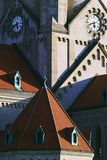 Igreja de St Francis de Assisi, Viena Fotos de Stock