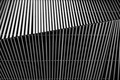 Detalhe arquitetónico da grelha do metal Foto de Stock Royalty Free