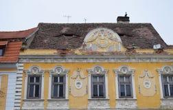 Detalhe arquitetónico de casa Fotografia de Stock Royalty Free