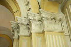 Detalhe arquitetónico de Sultan Abu Bakar State Mosque em Johor Bharu, Malásia Imagens de Stock Royalty Free
