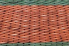 Detalhe arquitetónico de telhas de telhado de Wat Phra Kaew Imagens de Stock Royalty Free
