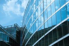Detalhe arquitetónico de uma construção moderna Imagem de Stock Royalty Free