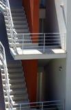 Detalhe arquitetónico de uma construção moderna Imagens de Stock Royalty Free