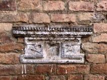 Detalhe arquitetónico do Nepali ncient bonito e rústico Imagens de Stock Royalty Free