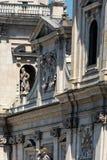 Detalhe arquitetónico em Salzburg imagens de stock