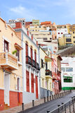 Detalhe arquitetónico em San Sebastian de la Gomera Foto de Stock Royalty Free