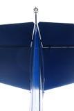Detalhe azul do avião Imagens de Stock Royalty Free