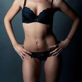 Detalhe bonito de um corpo da menina Fotografia de Stock