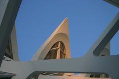 Detalhe a cidade da arquitetura das artes e das ciências   Fotografia de Stock
