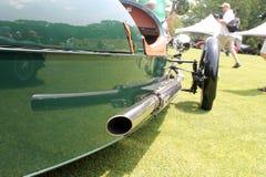 Detalhe clássico do carro Foto de Stock