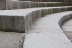 Detalhe concreto moderno das escadas imagem de stock royalty free