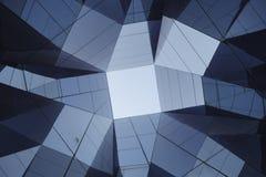 Detalhe contemporâneo abstrato da arquitetura fotos de stock