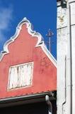 Detalhe Curaçau de construção colonial Foto de Stock Royalty Free