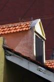 Detalhe Curaçau de construção colonial Fotografia de Stock