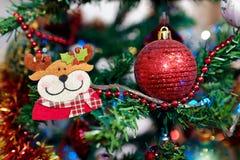 Detalhe da árvore de Natal Foto de Stock Royalty Free