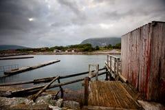 Detalhe da aldeia piscatória imagens de stock royalty free