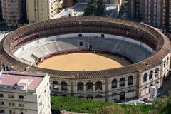 Detalhe da arena de Malaga Fotografia de Stock Royalty Free