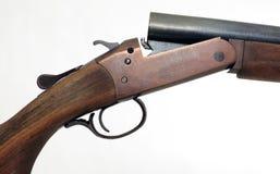 Detalhe da arma dos caçadores Fotos de Stock Royalty Free