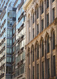 Detalhe da arquitetura de New York City Foto de Stock Royalty Free