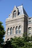 Detalhe da arquitetura de Salt Lake City Salão Fotos de Stock Royalty Free