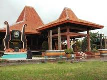 Detalhe da arquitetura no complexo do castelo de Maerokoco Fotografia de Stock Royalty Free