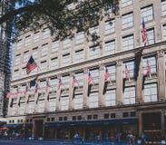 Detalhe da 5a avenida em Manhattan, New York uma do cano principal Fotografia de Stock