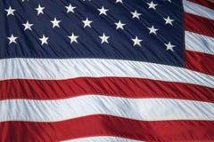 Detalhe da bandeira Imagens de Stock