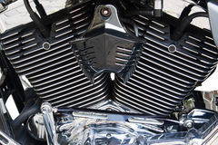 Detalhe da bicicleta do motor Imagem de Stock Royalty Free