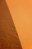 Detalhe da borda da duna Foto de Stock