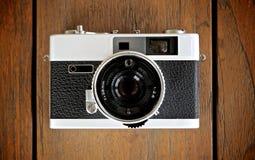 detalhe da câmera do vintage Imagens de Stock