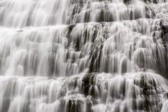 Detalhe da cachoeira de Dynjandi em Islândia Imagem de Stock