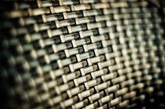 Detalhe da cadeira de vime Foto de Stock Royalty Free