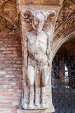 Detalhe da casa do diabo em Arnhem, Países Baixos Imagem de Stock Royalty Free