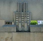 Detalhe da casa da malva rosa Fotografia de Stock Royalty Free