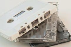 Detalhe da cassete de banda magnética Foto de Stock